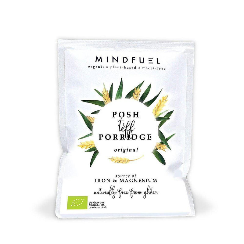 Cereals & Oats - Mindfuel - Organic Posh Teff Porridge - Original (1 Serving)