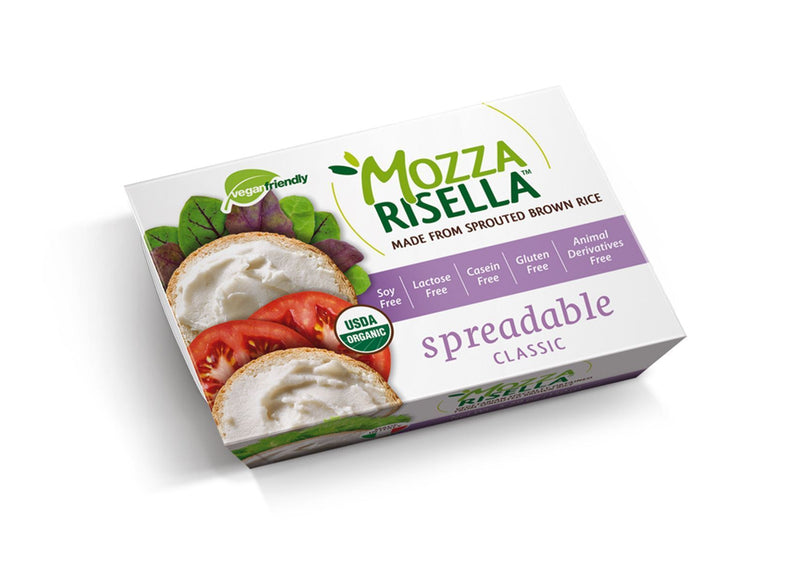 Cheeses - MozzaRisella - Organic Spreadable Classic - Vegan Cheese (150g)