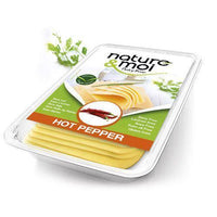 Cheeses - Nature & Moi - Hot Pepper Flavour Cheese Slices (200g)