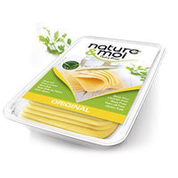 Cheeses - Nature & Moi - Original White Cheddar Cheese Slices (200g)