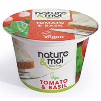 Cheeses - Nature & Moi - Tomato & Basil Flavour Cream Cheese Spread (150g)