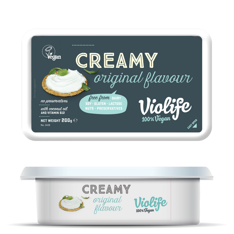 Cheeses - Violife Creamy Vegan Cheese - Original (200g)