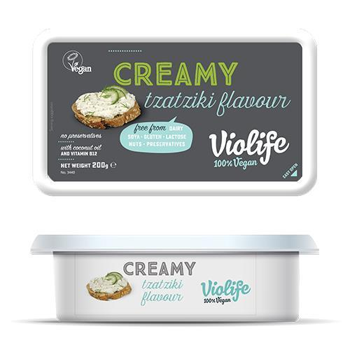 Cheeses - Violife - Creamy Vegan Cheese - Tzatziki (200g)