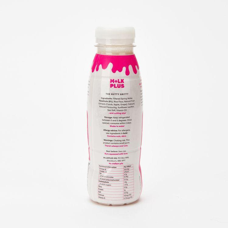 Mlkplus Mylkplus Salted Honeycomb Hazelnut Dairy Free Milk 330ml