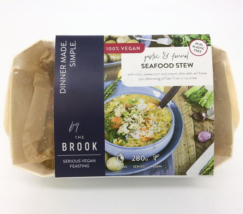 Chilled Ready Meals - The Brook - Garlic & Fennel Seafood Stew (280g)