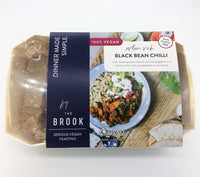 Chilled Ready Meals - The Brook - Protein Rich Black Bean Chilli (280g)