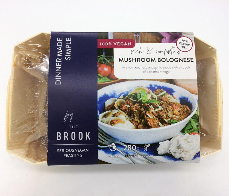 Chilled Ready Meals - The Brook - Rich & Comforting Mushroom Bolognese (280g)