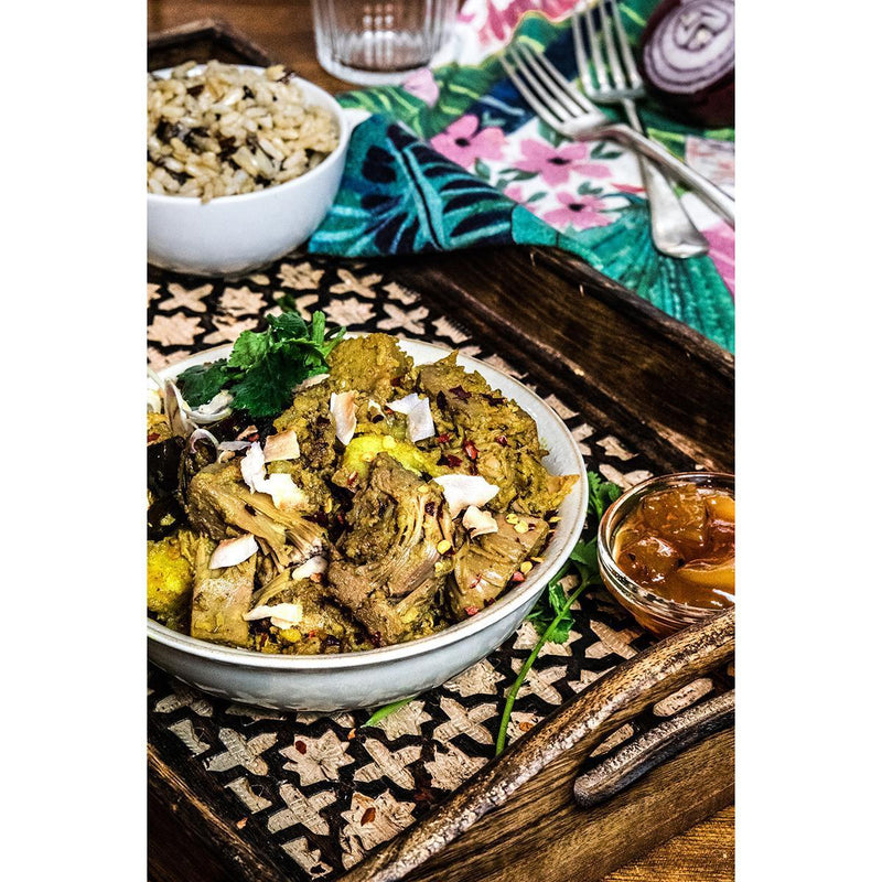 Chilled Ready Meals - The Brook - Slow-Cooked Jackfruit Rendang (250g)