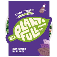 Chilled Ready Meals - The Plantifull Food Co - Asian Teriyaki - 5-a-day Pot (380g)