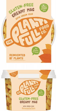 Chilled Ready Meals - The Plantifull Food Co - Gluten-free Creamy Mac (350g)