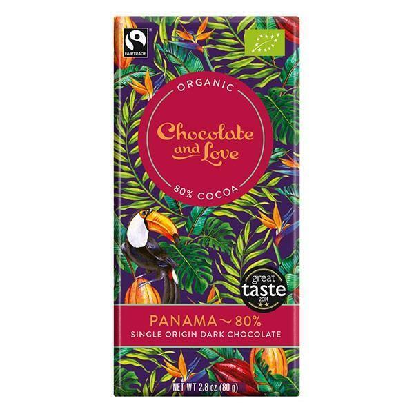 Chocolates/Bars - Chocolate And Love - Panama 80% Chocolate (80g)