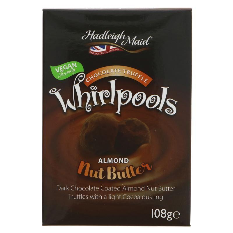 Chocolates/Bars - Hadleigh Maid - Almond Nut Butter Whirlpools (108g)