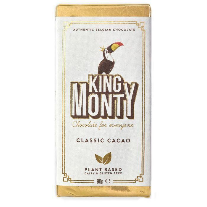 Chocolates/Bars - King Monty - Classic Cacao Bar (90g)