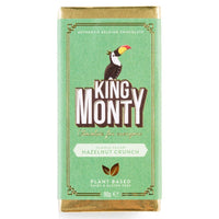 Chocolates/Bars - King Monty - Hazelnut Crunch Bar (90g)