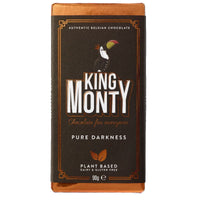 Chocolates/Bars - King Monty - Pure Darkness Bar (90g)