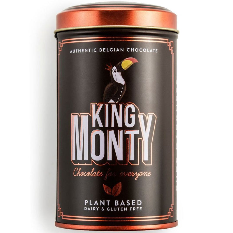 Chocolates/Bars - King Monty - Pure Darkness Tin With Mini Sticks (130g)