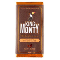 Chocolates/Bars - King Monty - Sunny Orange Bar (90g)