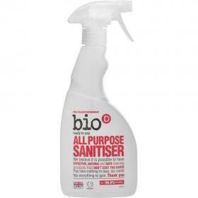 Bio D All Purpose Sanitiser (500ml) - TheVeganKind