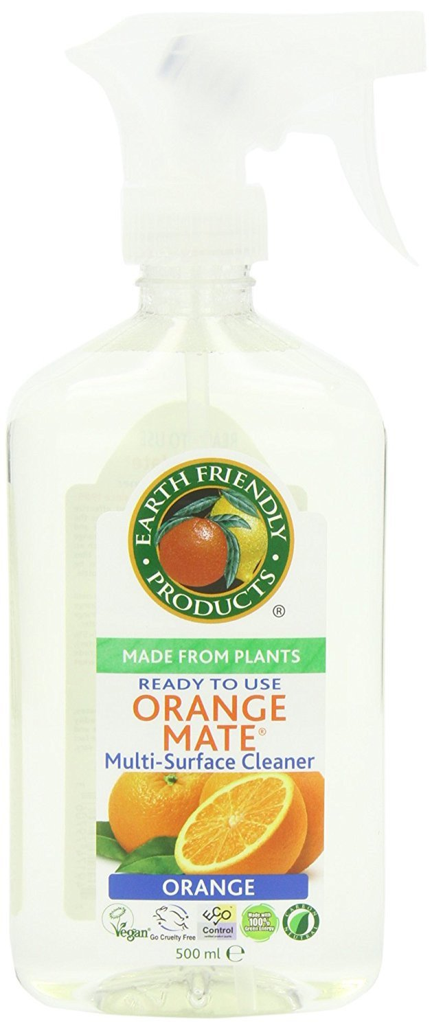 Earth Friendly Products Orange Mate Multi-Surface Cleaner (500ml) - TheVeganKind