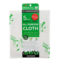 Cleaning Products - Maistic - Microplastic-Free All Purpose Cloth (5pack)