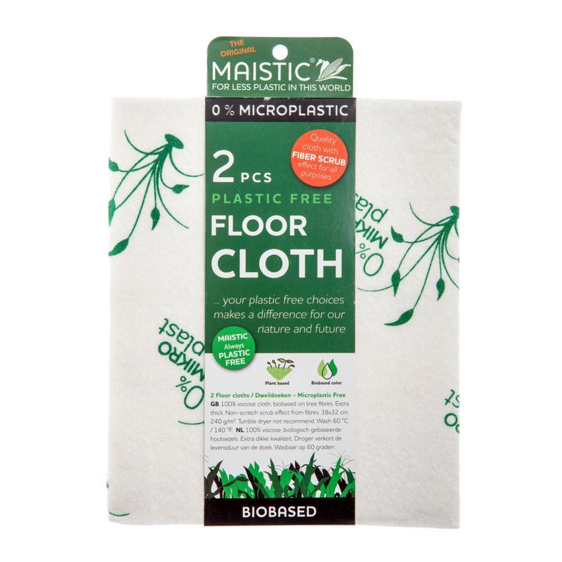 Cleaning Products - Maistic - Microplastic-Free Floor Cloth (2pack)