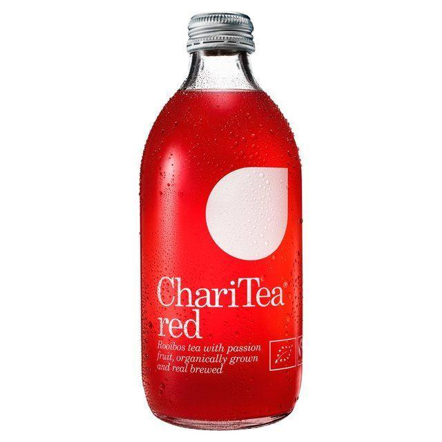 Cold Drinks - ChariTea - Red - Rooibos Tea With Passion Fruit (330ml)