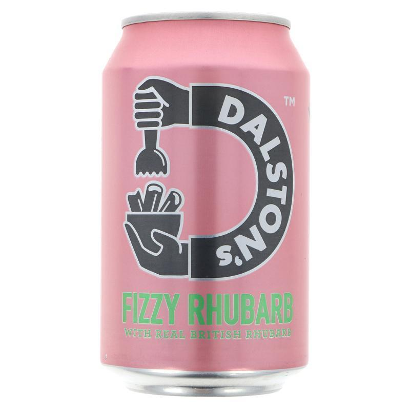Cold Drinks - Dalston's - Fizzy Rhubarb (330ml)