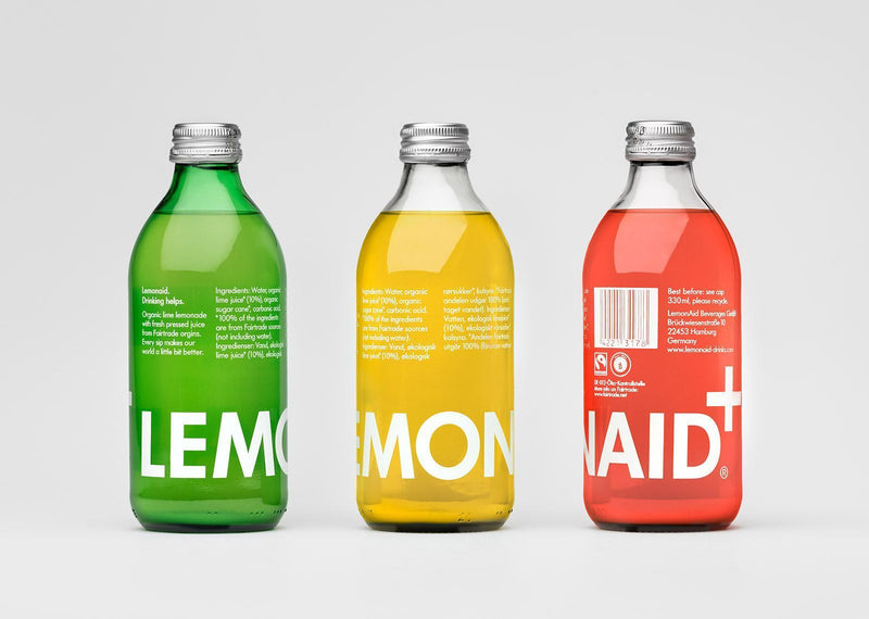 Cold Drinks - Lemonaid - Sparkling Soft Drink (330ml) (Various)