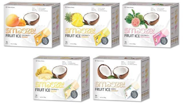 Cold Drinks - Smooze - Fruit Ice (5x65ml) (Various)