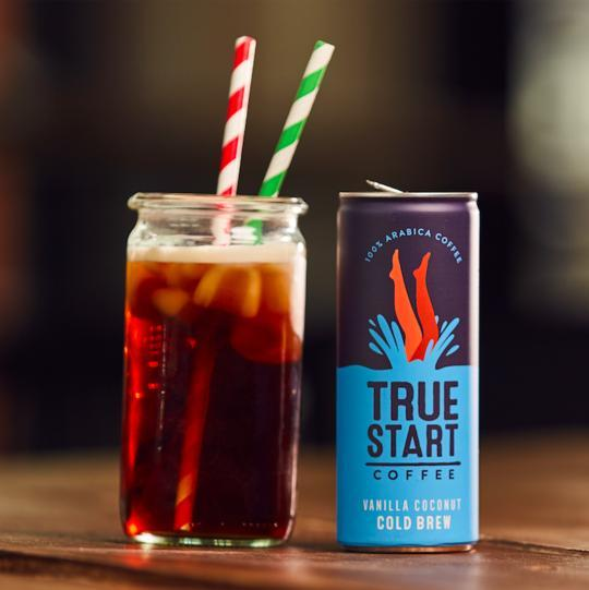 Cold Drinks - TrueStart - Cold Brew Can - Vanilla Coconut (250ml)