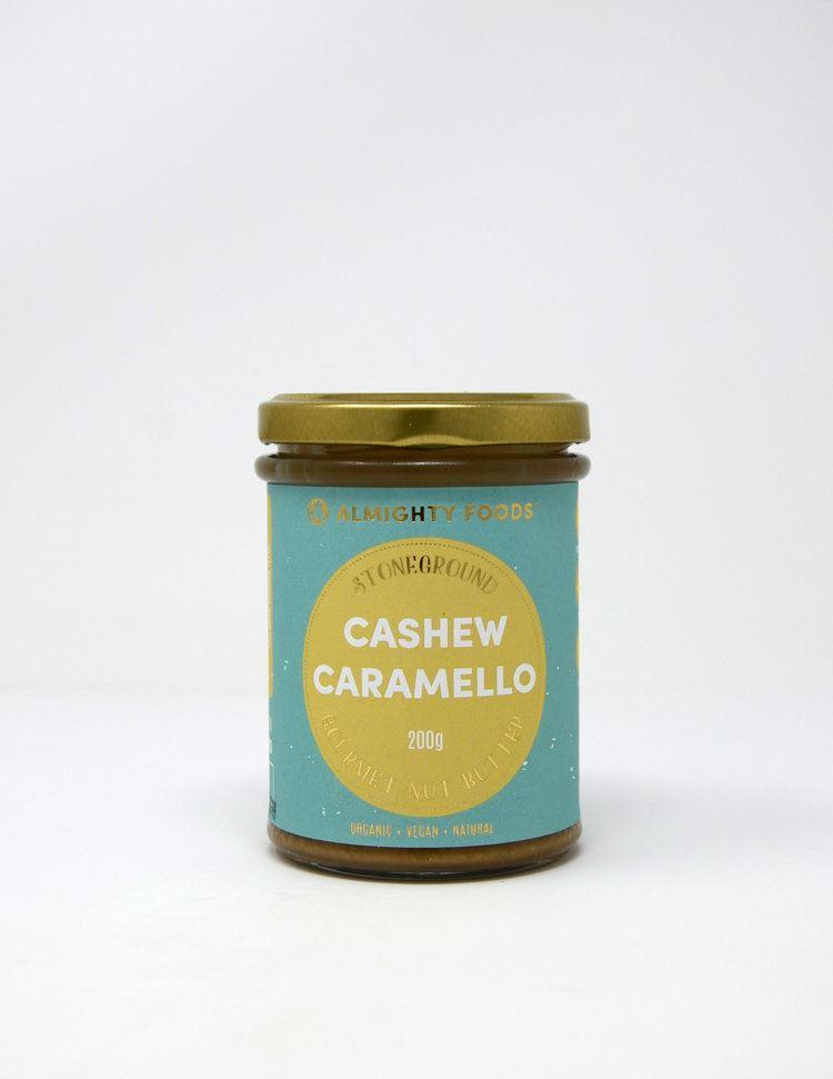 Condiments & Spreads - Almighty Foods - Stoneground Gourmet Nut Butter - Cashew Caramello (200g)