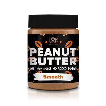 Condiments & Spreads - Buy One Get One Free! Tom Oliver Nutrition - High Protein Peanut Butter - Smooth (400g)