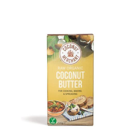 Condiments & Spreads - Coconut Merchant - Raw Organic Coconut Butter (200g)