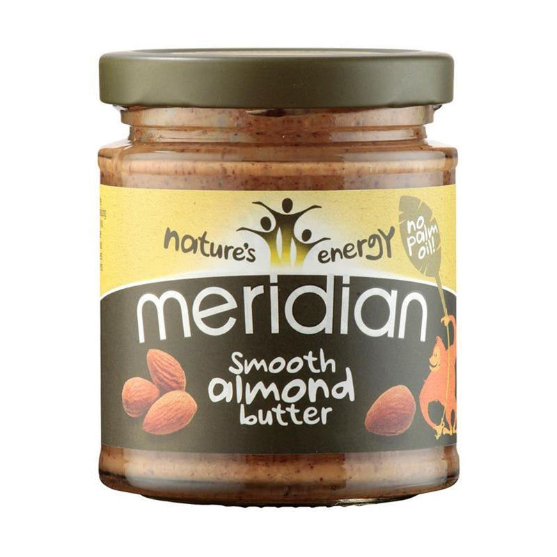 Condiments & Spreads - Meridian - Smooth Almond Butter (170g)