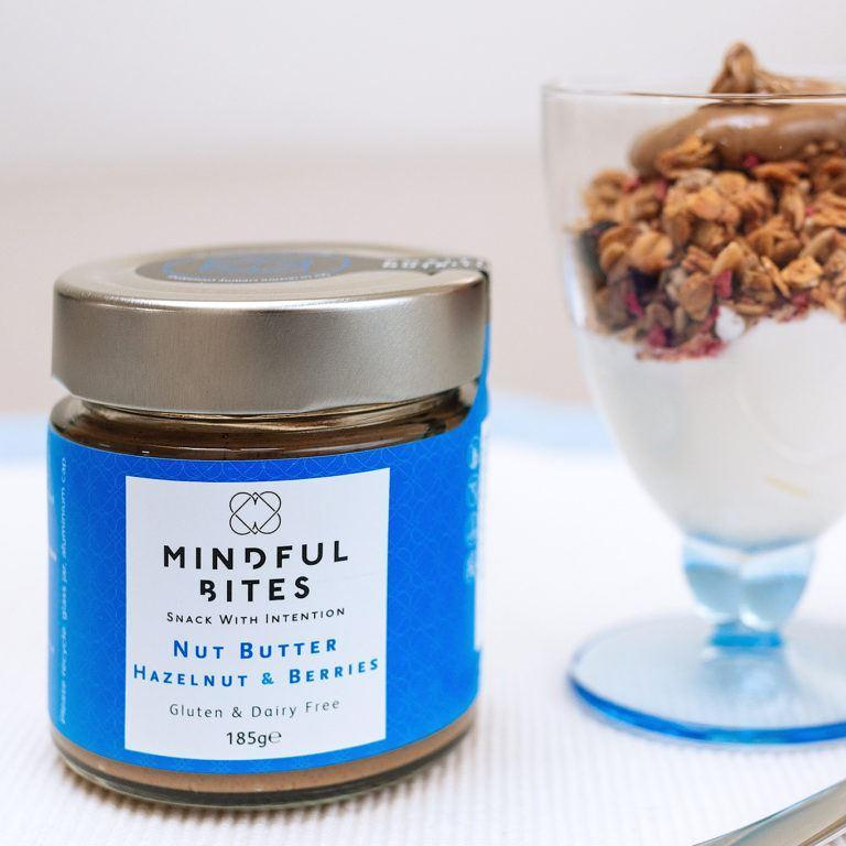 Condiments & Spreads - Mindful Bites - Nut Butter Jar - Hazelnut & Berries (185g)