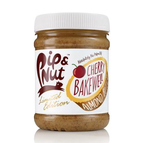 Condiments & Spreads - Pip And Nut - Cherry Bakewell Almond Butter Ltd Ed (225g)