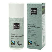 Condoms, Lubricants & Gels - Fair Squared - Green Tea Lube And Massage Gel (150ml)