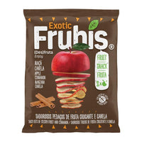 Crisps, Chips & Popcorn - Frubis - Sliced Red Apple Snack With Cinnamon (20g)
