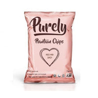 Crisps, Chips & Popcorn - Purely - Plantain Chips Nice & Spicy (75g)