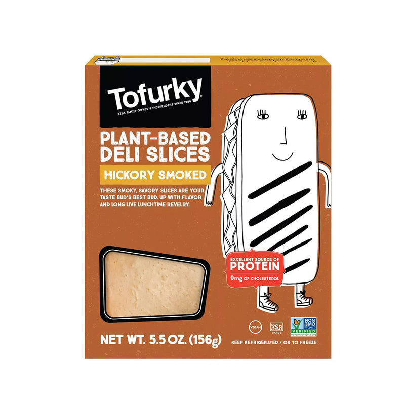 Tofurky - Plant-Based Hickory Smoked Flavour Deli Slices (156g)