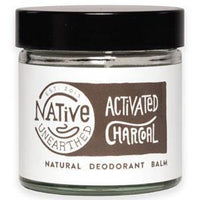 Deodorants - Native Unearthed - Natural Deodorant Balm - Activated Charcoal (60ml)