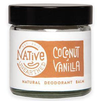 Deodorants - Native Unearthed - Natural Deodorant Balm - Coconut & Vanilla (60ml)