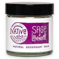 Deodorants - Native Unearthed - Natural Deodorant Balm - Lavender & Sage (60ml)