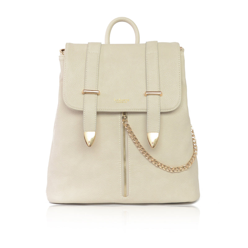 Designer Bags - LaBante - Agnes Off White Backpack