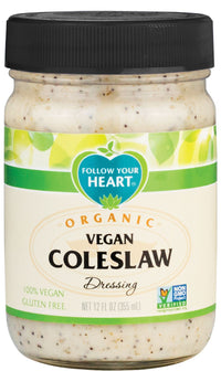 Dressings, Dips, Sauces, Spreads - Follow Your Heart - Organic Vegan Coleslaw (355ml)