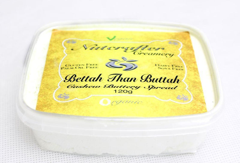 Dressings, Dips, Sauces, Spreads - Nutcrafter Creamery - Bettah Than Buttah - Organic Cashew Buttery Spread (120g)
