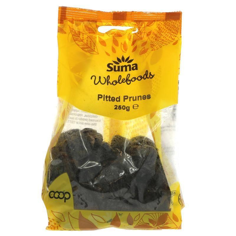 Dried Fruits - Suma - Ashlock Pitted Prunes (250g)