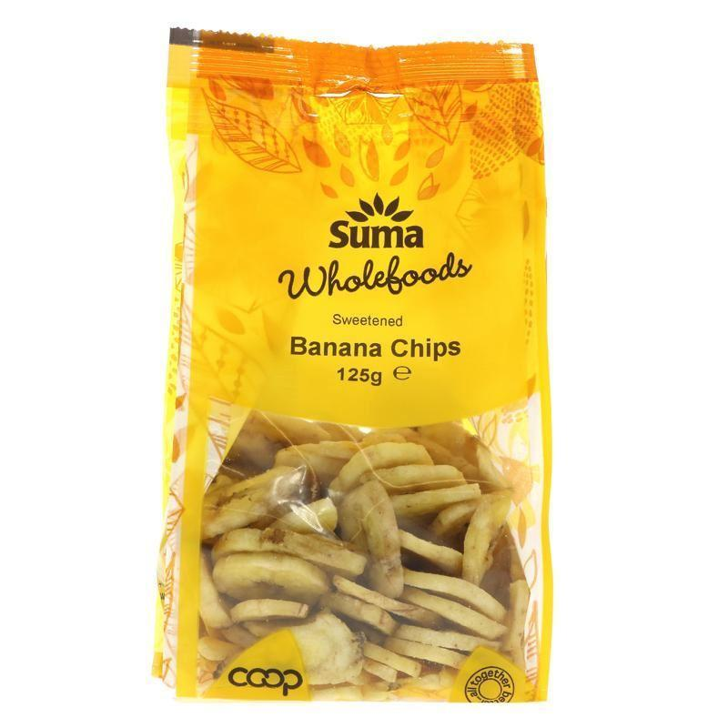 Dried Fruits - Suma - Banana Chips (125g)