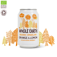 Drinks - Whole Earth - Organic Sparkling Orange & Lemon (330ml)