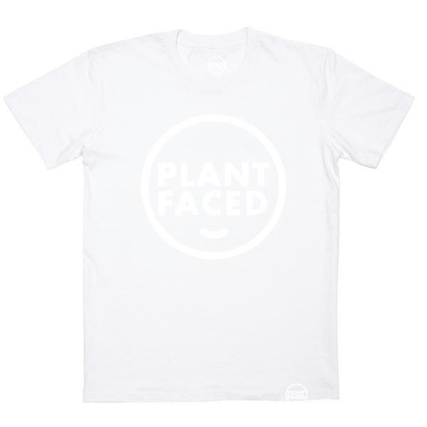 Ethical Clothing - PLANT FACED - The Classic - White - 100% Organic Unisex T-Shirt